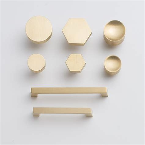 Brass Kitchen Hardware Uk by Hex Knob Brass Kitchen Kitchen