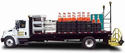 Cone Truck Tma Trucks Spa Lift Scissor