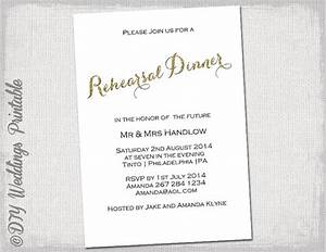 rehearsal dinner invitation template quotgold glitterquot diy With free wedding invitation templates 4x6