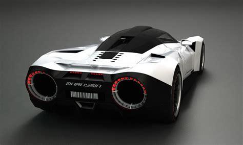 Russian Designer Creates Supercar Fusing Lamborghini
