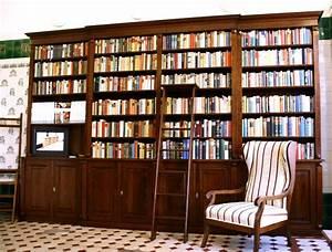 Regalwand Mit Türen : regalwand mit t ren und leiter erle massiv 270x400x45cm ebay ~ Michelbontemps.com Haus und Dekorationen