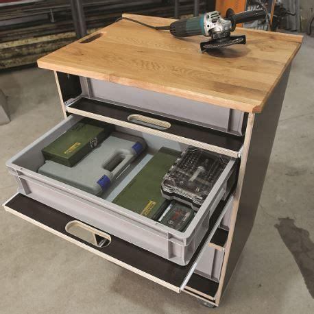 werkstattwagen selber bauen praktischen werkstattwagen g 252 nstig selber bauen