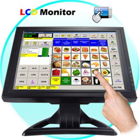 pc bureau ecran tactile ecran tactile 15 pouces lcd pour pc pos