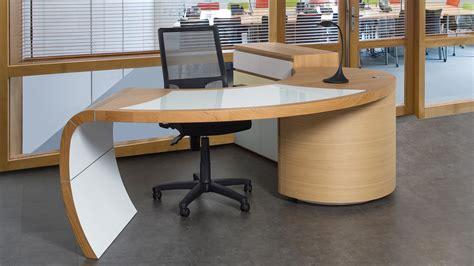 bureau design ch 234 ne et merisier meubles lebreton