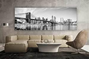 Badematte Schwarz Weiß : new york schwarz weiss panorama kunstwerk modern art design ~ Markanthonyermac.com Haus und Dekorationen