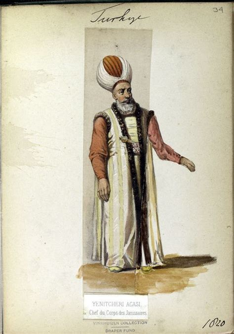 Chef Ottoman by Chef Du Corp Of The Janissaries General The Vinkhuijzen