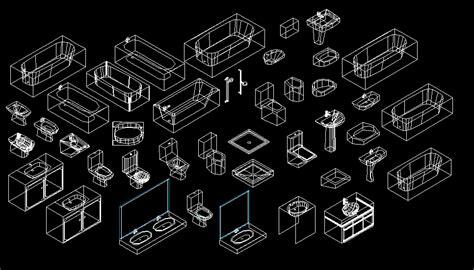 bloques autocad gratis de sanitarios en  dimensiones