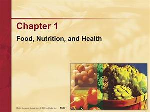 Nutrition  Food  Nutrition And Health