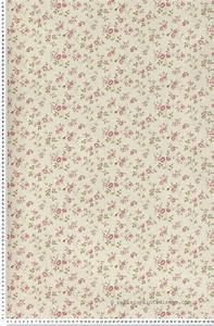 Papier Peint Fleuri : fleurs cottage rose papier peint lut ce chambre ~ Premium-room.com Idées de Décoration