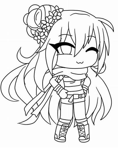 Gacha Coloring Pages Anime Boy