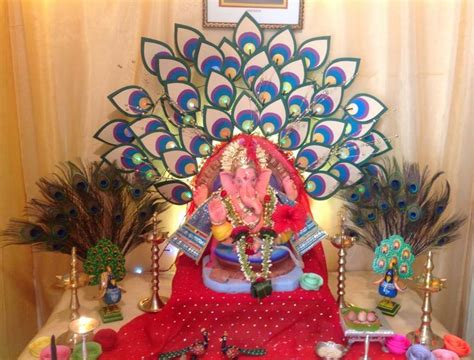 Garden Decoration For Ganpati by Ganpati Decoration Ideas At Home Pooja Room Decoration