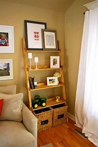 Diy, Ladder, Bookshelf, An, Easy, Weekend, Project