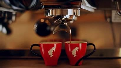 Coffee Pausa Lunga Maneggiare Come Attrezzatura Espresso