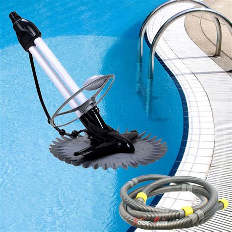 Inground Automatic Swimming Pool Vacuum Cleaner Hover Wall