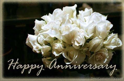 happy anniversary  flowers desicommentscom