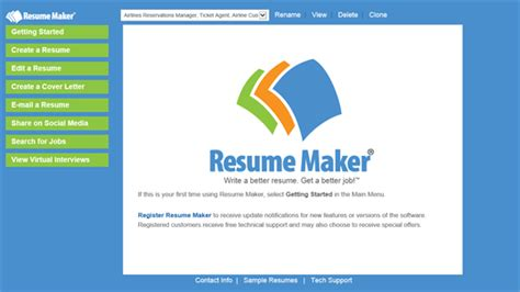 Resume Maker by Resume Maker For Windows 10 Pc Free Best