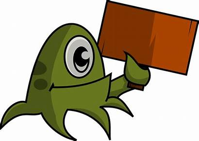 Clipart Creative Commons Common Placard Monster Monsters