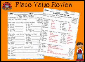 Place Value Worksheets Grade