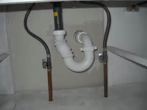 How To Plumb A Sink Drain by Bathroom Plumbing A Bathroom Sink Plumbing A Double