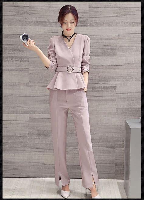 elegant pant suits  women   womens business