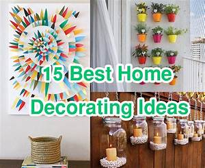 15 Easy & Cheap Home Decorating Ideas improvements