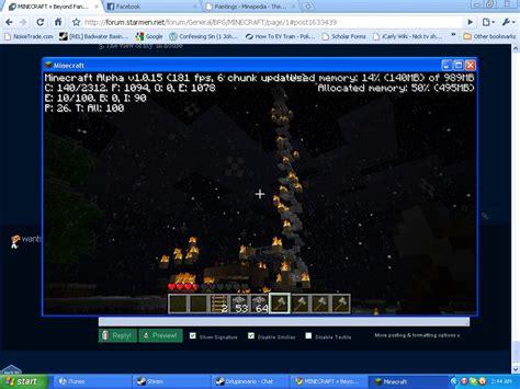 Minecraft Ride Boat Up Waterfall by Minecraft 171 Beyond Earthbound 171 Forum 171 Starmen Net