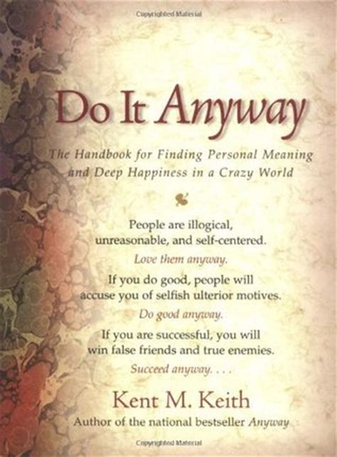 handbook  finding personal meaning  deep happiness   crazy world