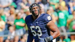 football defensive chart khalid kareem and notre dame defensive line looking to