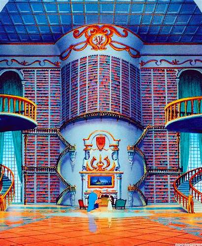 Beast Library Disney Amazing Rich Books Person