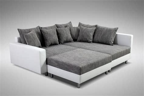 modernes sofa couch ecksofa eckcouch  weiss eckcouch mit