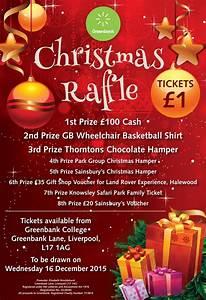 greenbank charitys christmas raffle greenbank With christmas raffle poster templates