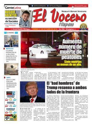 El Vocero Hispano 21 de Octubre de 2016 by El Vocero