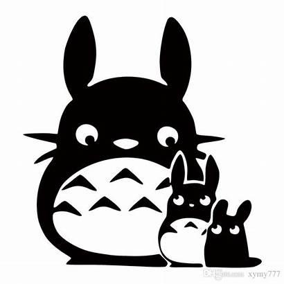 Totoro Clipart Anime Ghibli Neighbor Sticker Chibi