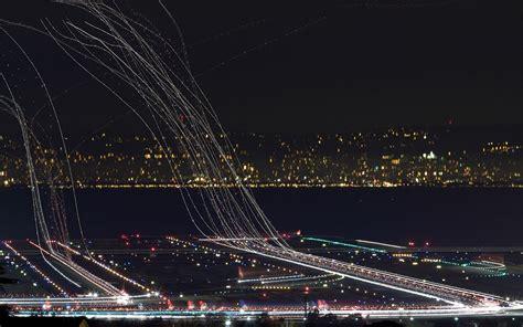 long exposure airport shot heres