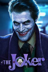 Willem Dafoe - Joker by Vessling on DeviantArt