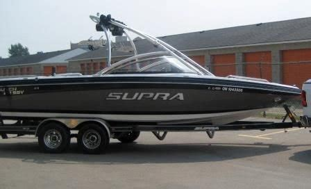 Wakeboard Boats In Ontario by Supra Wakeboard Boat For Sale From Brantford Ontario