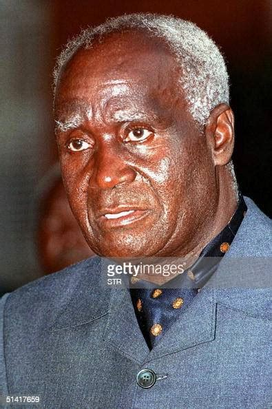 picture dated  january  shows  zambian president kenneth news photo getty images