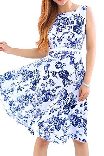 petticoat kleider von yming  blau fuer damen