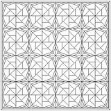Quilt Coloring Patterns Pattern Block Wheel Pages Fortune Pinwheel Quilting Blocks Cabin Log Fish Quilts Month Colouring Paper Printables Printable sketch template
