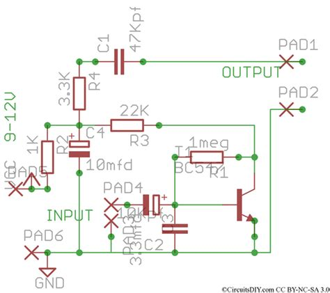 Simple Preamplifier For Microphones Tape Heads Eeweb
