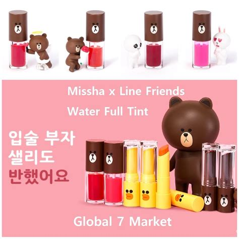 Jual Missha X Line restock limited edition missha x line friends water