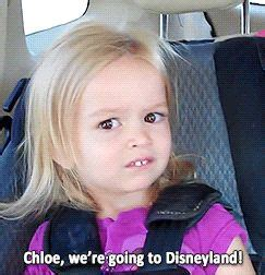 Chloe Disneyland Meme - 301 moved permanently