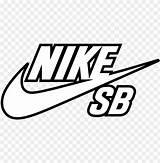 Nike Sb Transparent Coloring Pngio sketch template