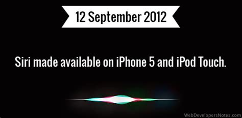 siri made available on iphone 5 and ipod touch
