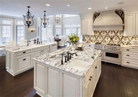 White Kitchen Cabinets With Granite Countertops Photos by What Are The Best Granite Colors For White Cabinets In