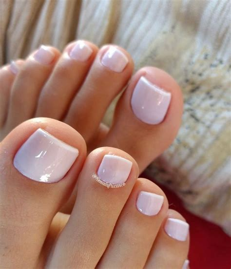 toes  beautiful manis  pedis unas