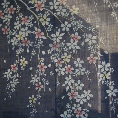 cherry blossom curtain rod door curtain