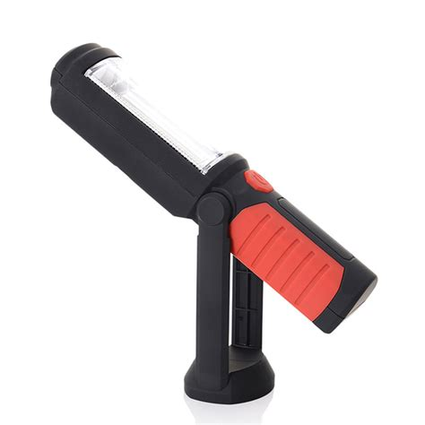 magnetic led work light rechargeable cob led work light inspection hand l torch magnetic usb