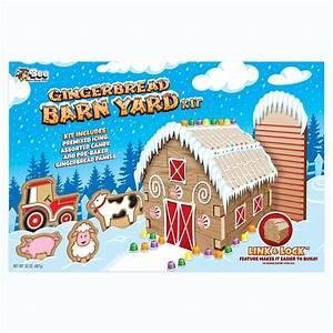 Gingerbread Barn Yard Kit - Walmart Com