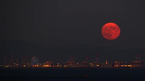 super blood moon eclipse pictures
